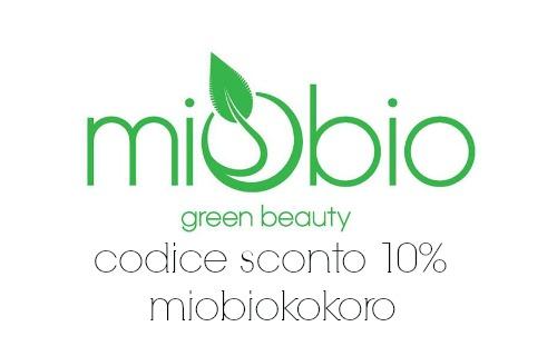 codice sconto 10% miobioshop.com