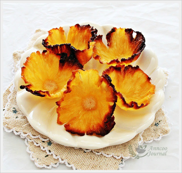 Making Dried Pineapple Flowers | Anncoo Journal - Come for Quick and ...