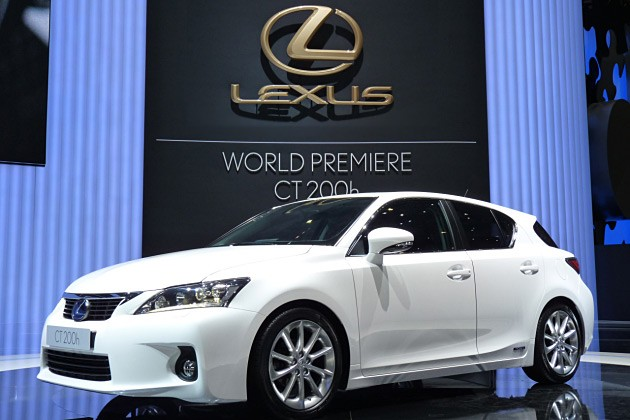 Lexus CT 200h will appear in Europe