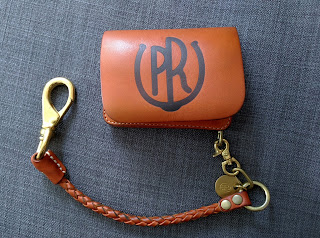 PR-KUJIRA-LC PR branding iron Leather Wallet. Use 5 days