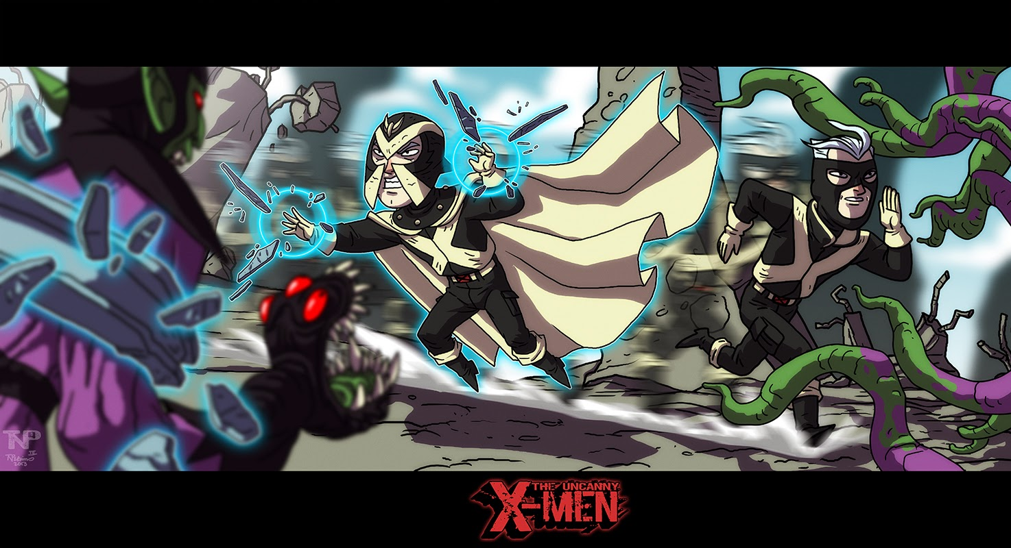 X-Men vs Skrulls 2