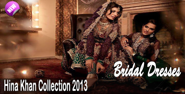 Wedding Dresses | Hina Khan Bridal Dresss Collection 2013