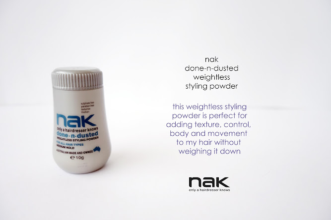 Nak Hair Products Dry n Dusted Weightless Powder Review