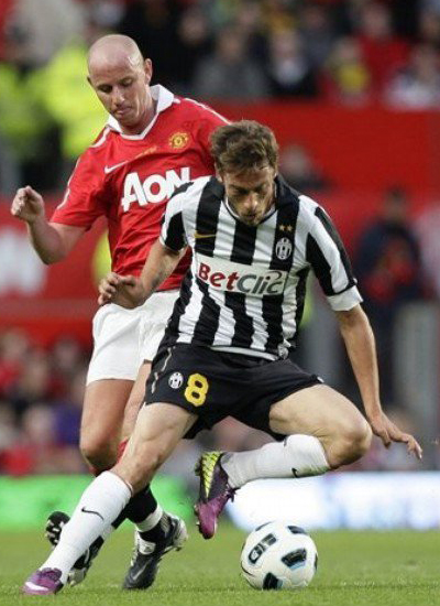 Friendly Match Nicky Butt Manchester United vs Juventus