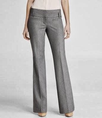 Express Editors wide waistband pants