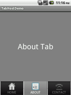 how to change the launch page in androi