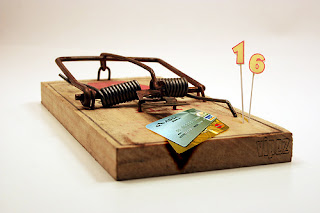 Credit Cards On A Mouse Trap