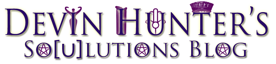 Devin Hunter&#39;s So[u]lutions Blog