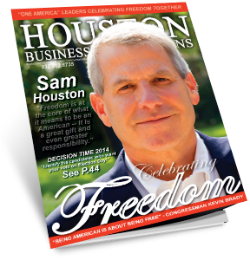 "MEET SAM HOUSTON A ""THOUGHT LEADER"" FOR THIS SERIES"