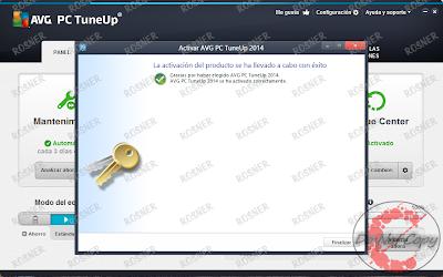 AVG PC TuneUp 2014 14.0.1001.154 [Español] [UL-RG-TB-FS]