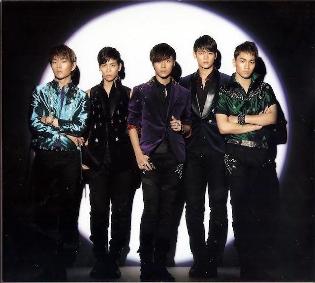 Shinee Dazzling Girl album image scan