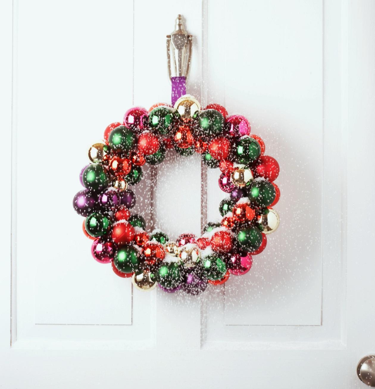 Ideas para decorar en navidad faciles y economicas mejor - Como hacer coronas de navidad ...