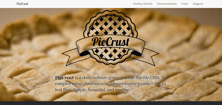 PieCrust static website generator
