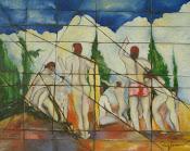 """Estudo """"obra de Paul Cézanne"""""""