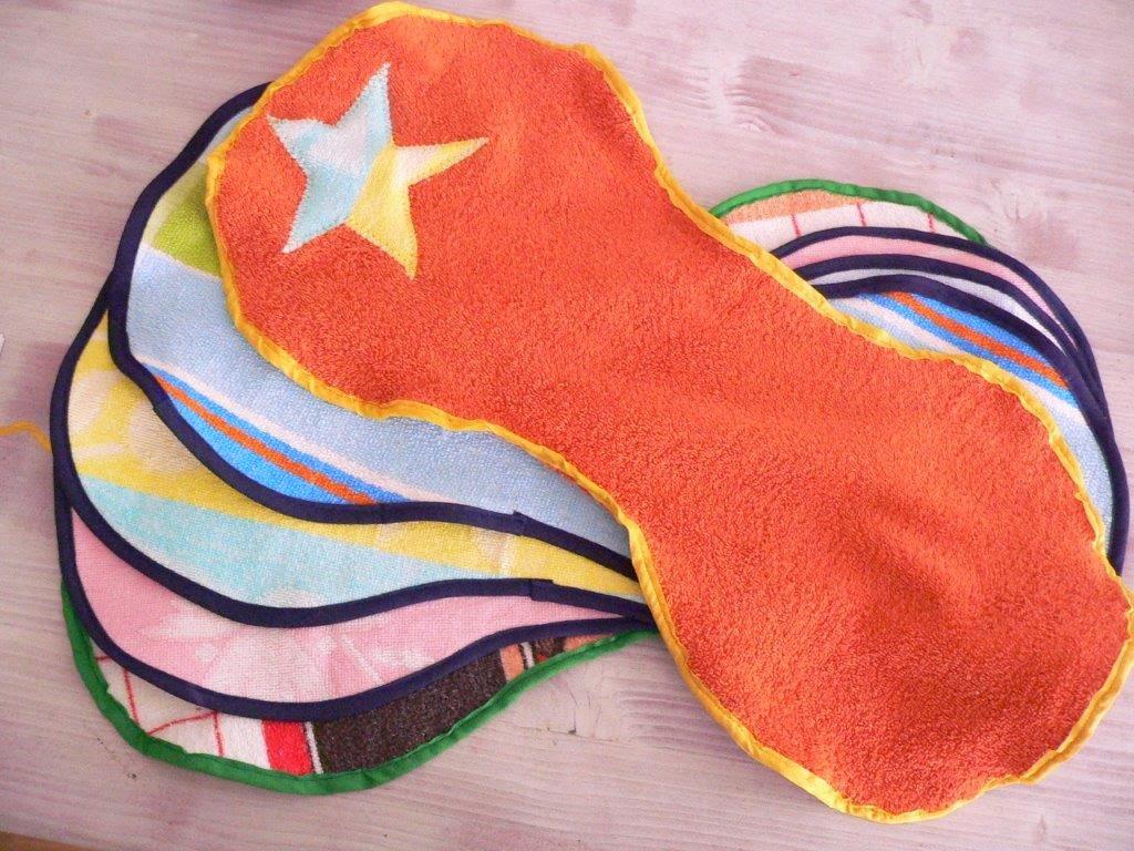 nähen upcycling Handtücher Weihnachten Weihnachtsgeschenk Idee DIY