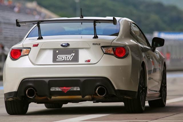 Subaru BRZ TS trasera