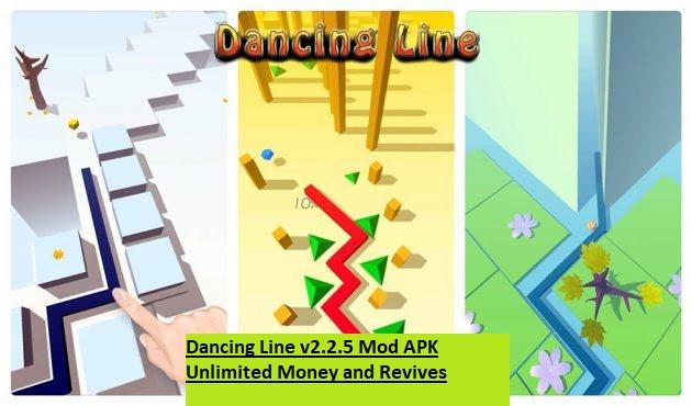 Dancing Line v2.2.5 Mod APK Unlimited Money and Revives