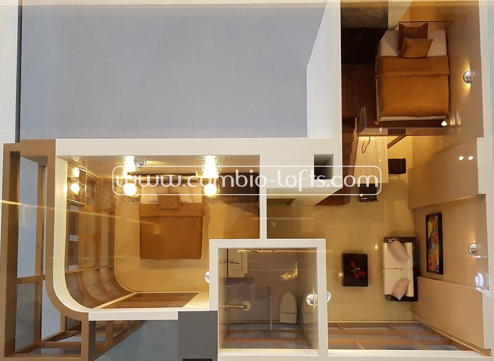 2 bedroom loft. Cambio Lofts - 2 Bedroom Loft E