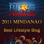 The good folks at the Philippine Blog Awards, showin' me some love!!