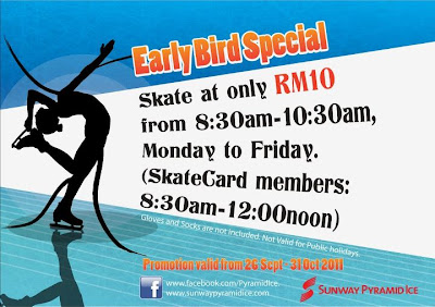 Skate at Sunway Pyramid Ice For Only RM10