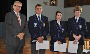 College Captains and Vice Captains Receive Their Ian MacDonald Achievement Awards
