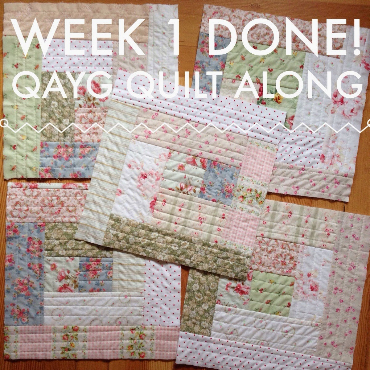 week 1 done quilt