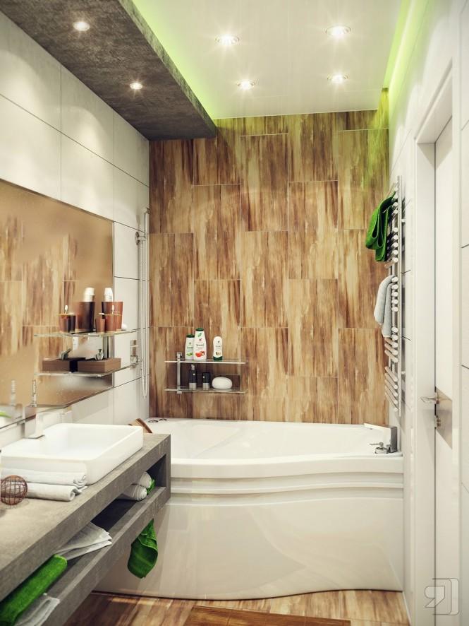 ديكور تصاميم حمامات صغيرة