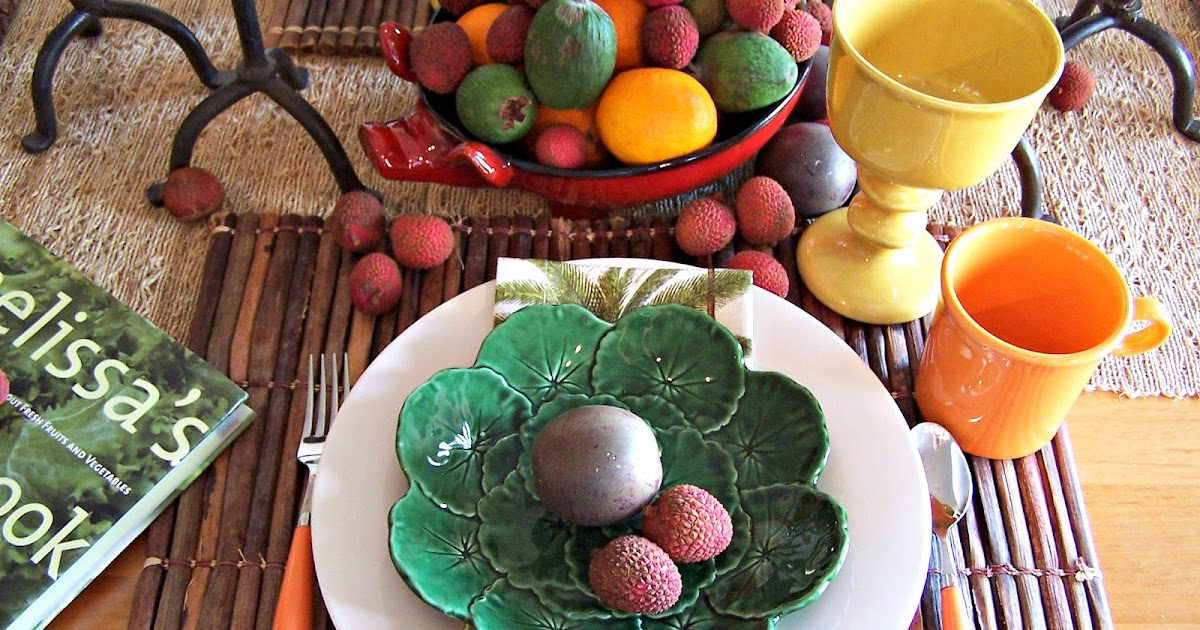 Olla-Podrida: Fruits of my Labor Table Setting