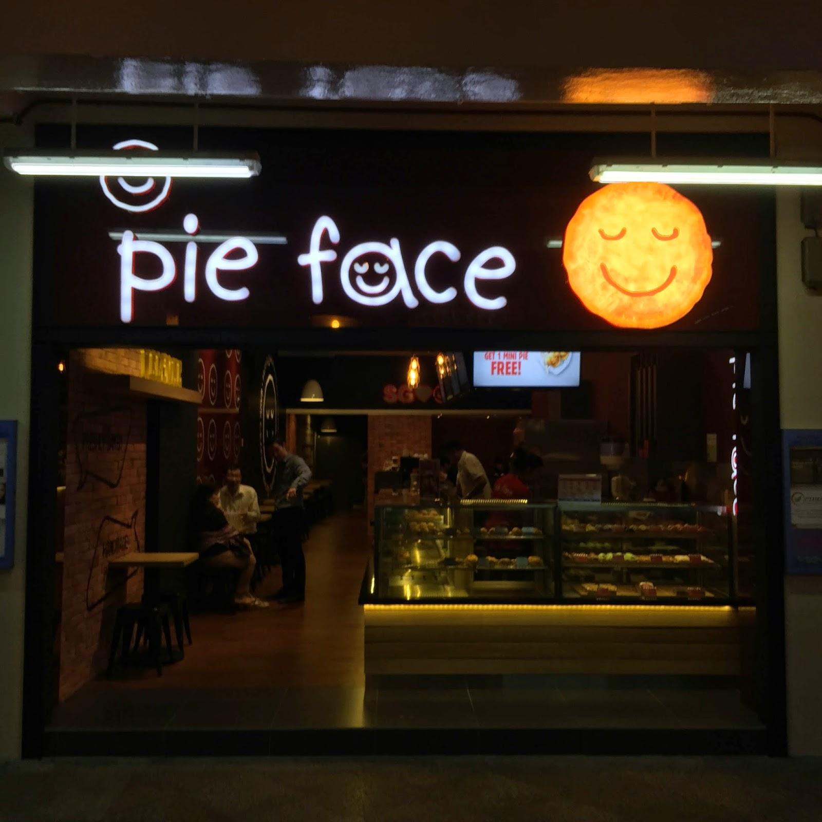 Pie Face Bugis Storefront