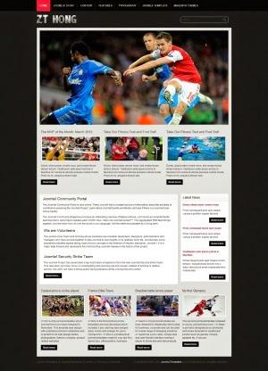 Share template ZT Hong - Joomla 1.5