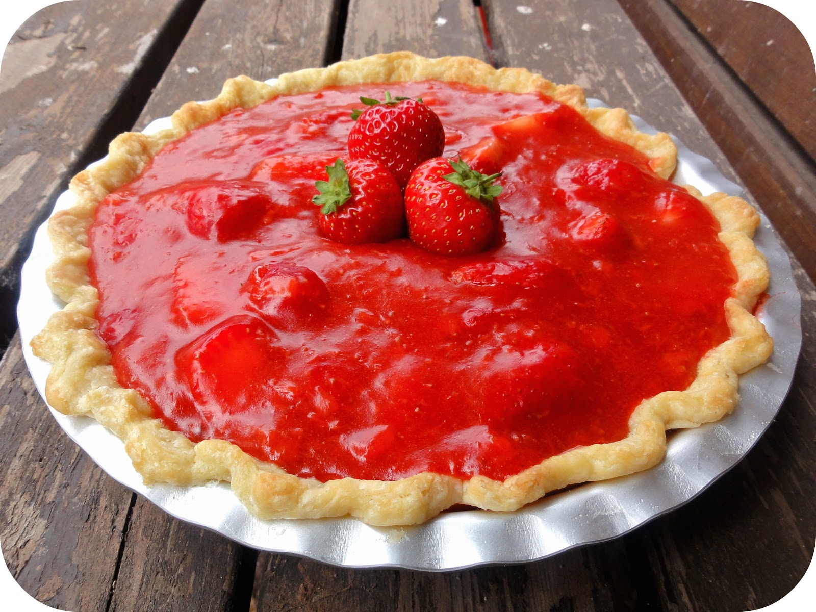The Procrastobaker: Fresh Strawberry Pie