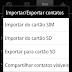 Como transferir contatos do celular para o chip Android