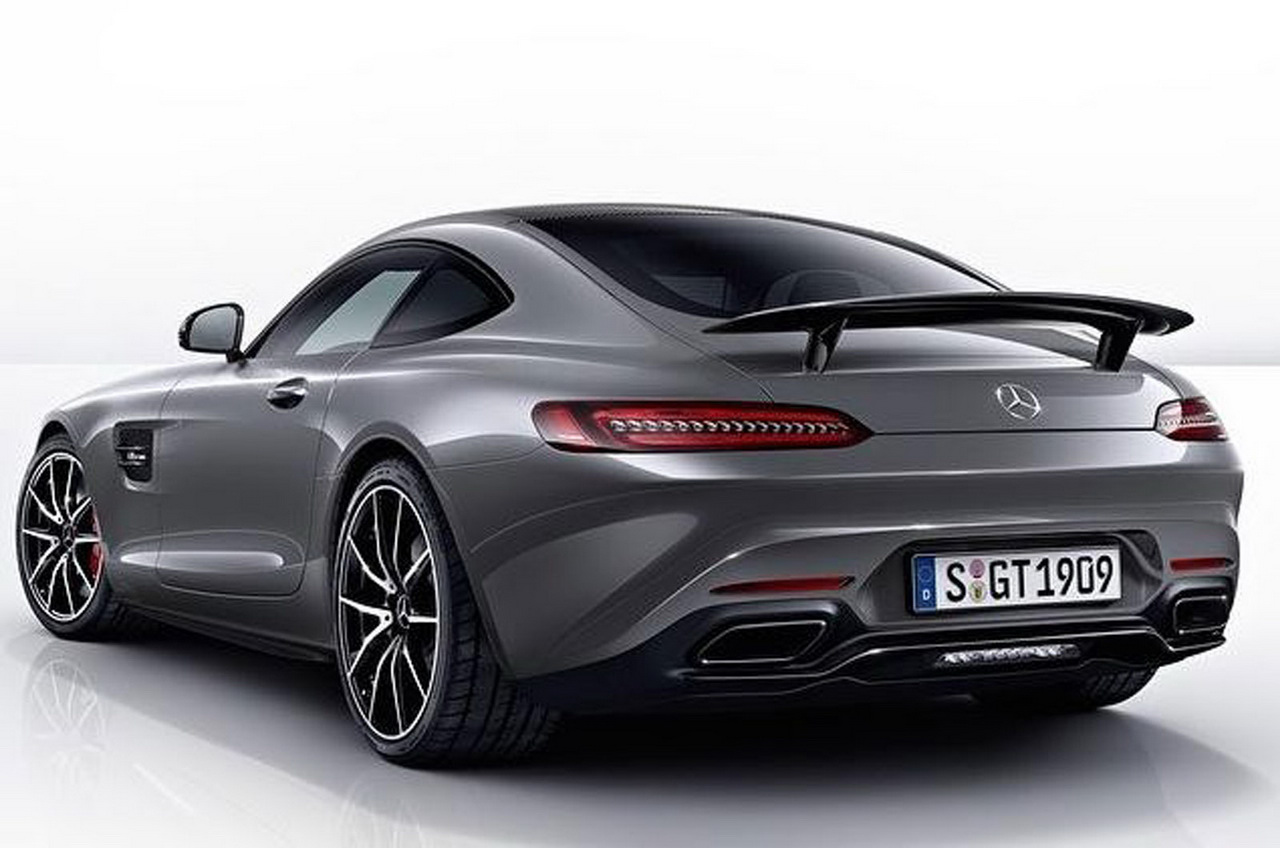 New mercedes amg gt edition 1 photos surface for Mercedes benz new amg