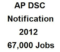 selection process for ap dsc 2012, ap dsc merit list 2012 for district wise for the above said groups