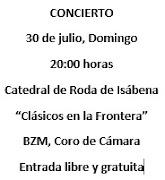 CONCIERTO 2017 -  Clásicos en la Frontera
