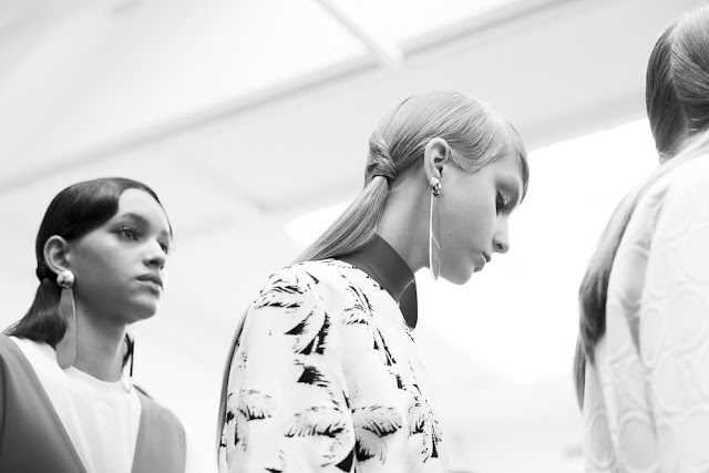 Fashion Runway | Backstage at Marni Spring 2016 by Martina Ferrara