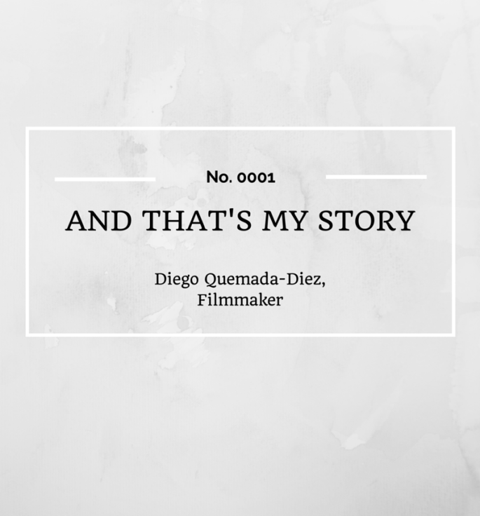 And That's My Story: Diego Quemada-Diez, Filmmaker
