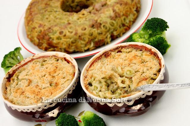 anelletti con broccolo siciliano