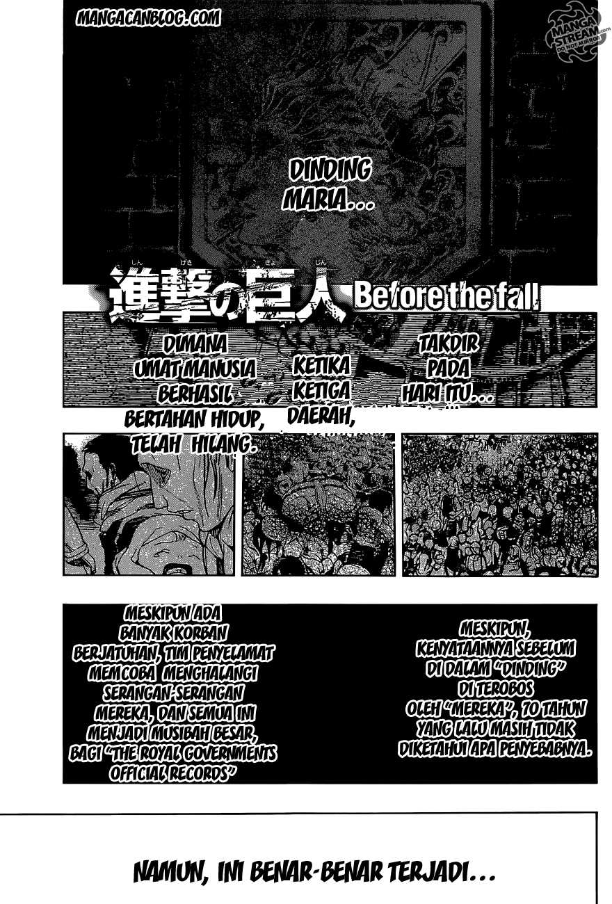 Dilarang COPAS - situs resmi www.mangacanblog.com - Komik attack on titan before the fall 000 - prologue 1 Indonesia attack on titan before the fall 000 - prologue Terbaru 0|Baca Manga Komik Indonesia|Mangacan