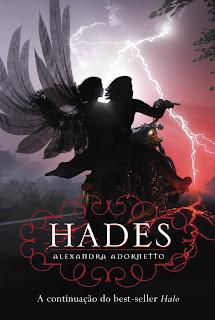 Capa do livro Hades, e Alexandra Adornetto