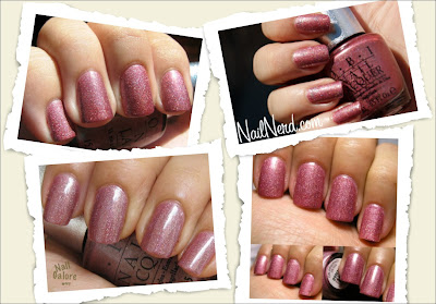 opi ds opulence designer series holographic nails uñas nail polish esmaltes