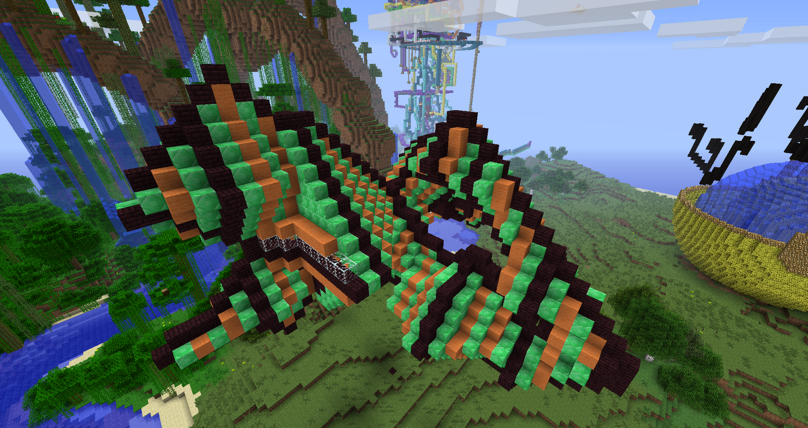 Easy Minecraft Creations http://dmarquezblog09.blogspot.com/2012/10/minecraft-creations.html