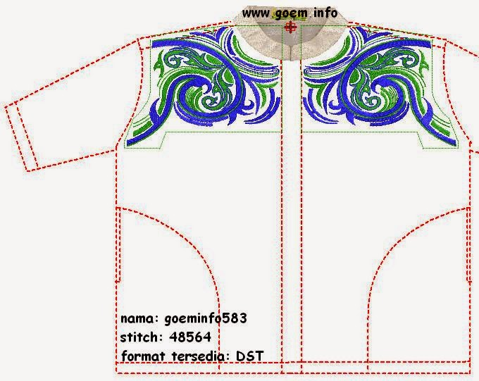 Embroidery Designs For Shirt Man