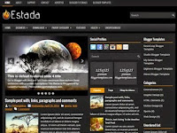 Estada - Premium Blogger Templates Download
