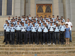 Formandos da 5º Turma de Guardas-Mirim