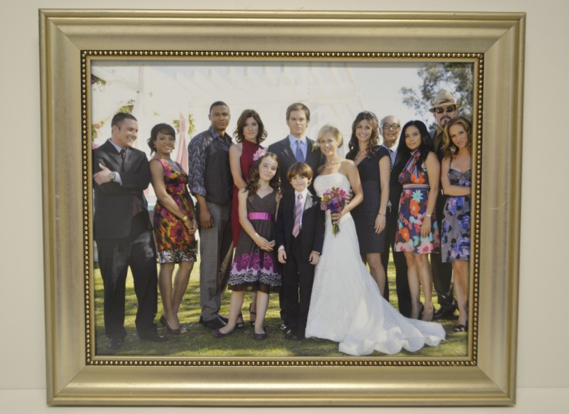Dexter and rita wedding