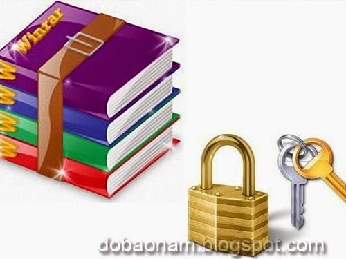 Cách đặt mật khẩu cho file nén bảo mật folder