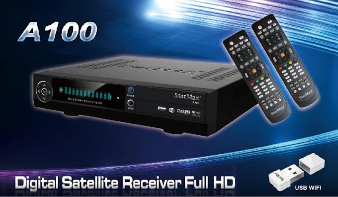 NOVA ATUALIZAÇÃO STARMAX A100 V1.09.15353 - 29-12-2015