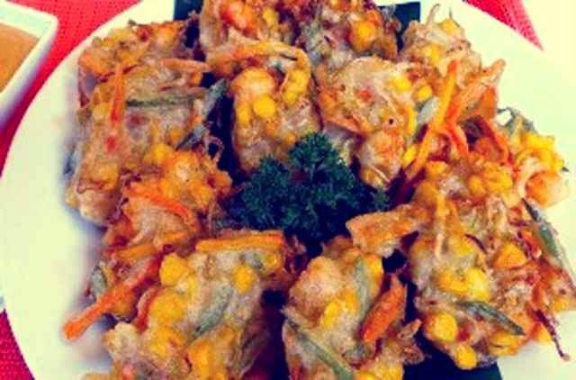 resep bakwan udang tempe