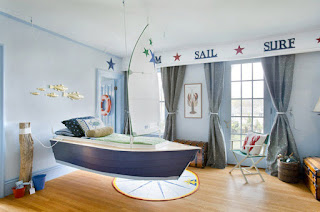Sea Interior Design Photo for Kids Room